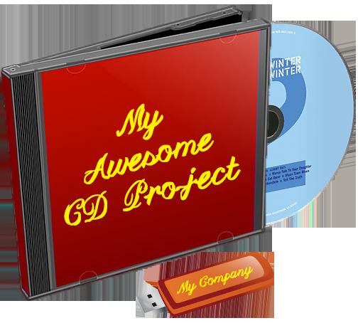 CD DVD Flash Drive